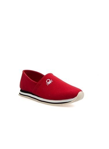 Benetton Bn30251 Kadın Spor Ayakkabı Kırmızı